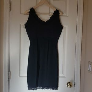 Spanx Body Shaper, full slip tank dress